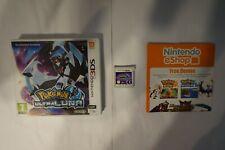 Pokémon Ultramoon Ultramond Nintendo 3DS ultraluna spiel  game 2DS PAL EUR clean