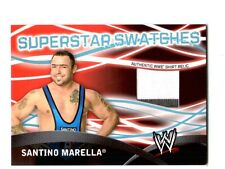 WWE Santino Marella Topps 2011 Superstar Swatches Event Used Shirt Relic Card 2C