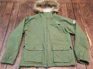 EMPYRE adult M medium snowboarding green coat jacket 10K mm skateboarding skiing