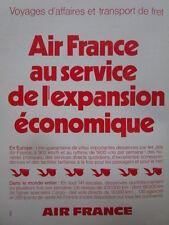 1/1972 PUB AIR FRANCE CARGO FRET AERIEN FRACHT PELICAN ORIGINAL FRENCH AD
