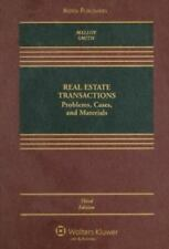 Real Estate Transactions: Problems, Cases, and Materials