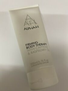 ALPHA H  FIRMING  BODY THERAPY WITH CAFFEINE & RASPBERRY OIL 200ML NEW