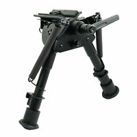 "6""-9"" Harris Style Spring Return Rotatable Bipod&Swivel Pivot Lock for Rifle"