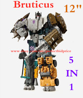 """New Transformers Bruticus HZX 5 In 1 Action Figure IDW KO Kids Toys in Stock 12"""""""