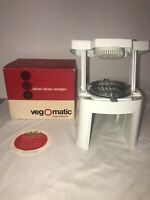 1969 Popeil Brothers VEG-O-MATIC Food Preparer Processor No. 707 Box Vintage
