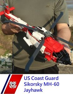 US Sikorsky MH-60 Jayhawk HH-60J Helicopter chopper plane aircraft moc block USA