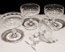 4 WATERFORD CRYSTAL COLLEEN CHAMPAGNE SHERBERT GLASSES ~ 4 3/8  IRELAND