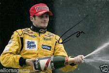 "Formula One F1 Driver Giancarlo Fisichella Hand Signed Photo 12x8"" AE"