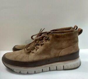 Cole Haan C31413 GrandSport Zerogrand Rugged Chukka Boots Golden Brown Size 13