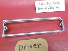 Aug 1961-1962 Buick Skylark Part LH Front Turn Signal Bezel
