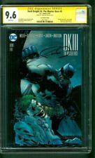 Batman Dark Knight III 5 CGC SS 9.6 Frank Miller Auto Jim Lee 1/500 Variant 8/16