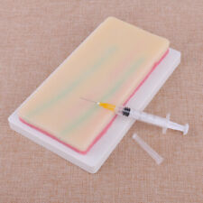 Human Skin Silicone Model Pad Medical Suture Training Student Nurse Practice ss