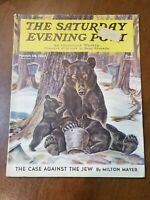 Vintage Saturday Evening Post March 28, 1942 Complete Magazine Issue Illustrated