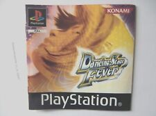 49247 Instruction Booklet - Dancing Stage Fever - Sony PS1 Playstation 1 (2003)