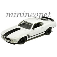 ACME A1801835 W 1970 FORD MUSTANG BOSS 302 STREET VERSION 1/18 DIECAST WHITE