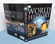 WORLD HISTORY ATLAS ~ Dorling Kindersley ~ (Revised, 2005, Hardcover w/ DJ) D.K.