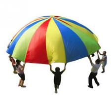 Rainbow parachute Children games Kindergarten parent-child activities education
