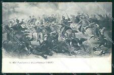 Militari Reggimentali 49º Reggimento Fanteria cartolina XF4982