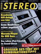 Stereo 6/06 Rega P 9, Vienna Acoustics Mozart, Marantz SA 7001, Solution 720