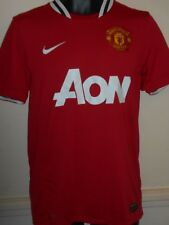 Manchester United Home Football Shirt Jersey (2011/2012) small men's #831