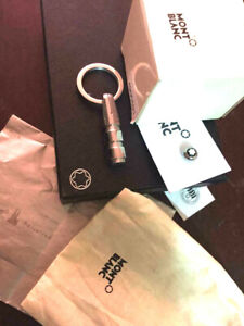 MONTBLANC bullet key holder used condition with box and paperwork GERMAN STEEL