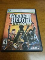 Guitar Hero III: Legends of Rock (Microsoft Xbox 360, 2007)