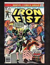 "Iron Fist #9 ~ ""The Dragon Dies at Dawn!"" / Cockrum, Crespi CVR~ 1976 (9.0) WH"