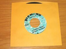 "NORTHERN SOUL 45 RPM - JOHNNY THUNDER - DIAMOND 196 - ""A BROKEN HEART"""