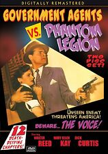 GOVERNMENT AGENTS VS PHANTOM LEGION- Cliffhanger with EXTRAS  2 disc DVD-