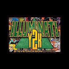 Y2K Expansion for Deluxe Illuminati Steve Jackson Games Brand New