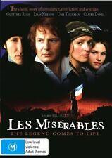 B8 BRAND NEW SEALED Les Miserables (DVD, 2007) Liam Neeson