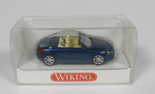 WIKING 1344032 AUDI TT ROADSTER 1/87 HO BLUE BLAU OPEN MADE IN GERMANY MODELISME