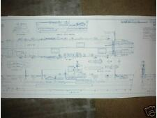 Hms ark royal in boats ships ebay blueprint hms ark royal plan malvernweather