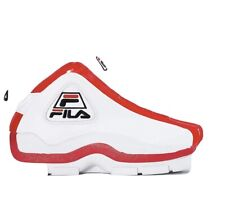 Fila Grant Hill White Red Basketball Trainers Uk 5  New