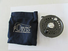 A1 orvis battenkill disc england 8/9 trout fly fishing reel & bag