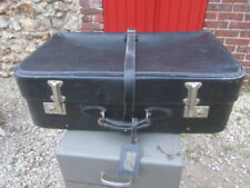 GRANDE VALISE VINTAGE ANGLAISE REGLABLE SYSTEME A CREMAILLERE ENGLISH SUITCASE