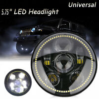 "DOT 5-3/4"" 5.75 LED Headlight DRL For Yamaha Harley Touring Davidson Sportster"