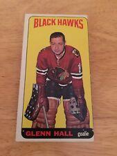 Topps 1964-65 Glenn Hall Chicago Blackhawks card #12