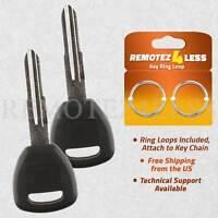 2 For 1998 1999 2000 2001 2002 Honda Accord Keyless Entry Remote Fob Car Key