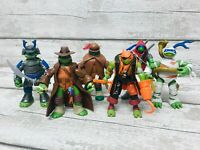 TMNT Teenage Mutants Ninja Turtles Shadows, Monsters Mutants Figures Bundle