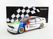 Minichamps BMW M3 E30 MACAU 1990 Team Schnitzer Winkelhock #5 1/18 Scale New!
