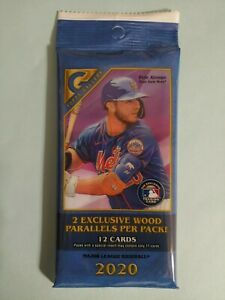 2020 Topps Gallery Value Pack 12 Baseball Cards NEW FACTORY SEALED
