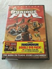Kung Fu Panda + Secrets of the Furious Five 2 Movie Double Pack Set DVD NEW