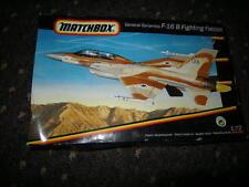 1:72 Matchbox General Dynamics F-16 B Fighting Falcon Nr. 40141 OVP