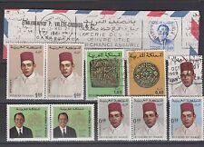 MAROC - Protectorat Français - lot de timbres neufs et oblitérés  (4)