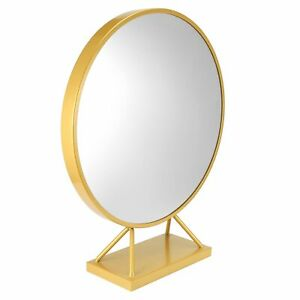 Round Makeup Mirror With Base Modern Vanity Mirrors Dressing Table SD0