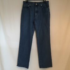 Trussardi Handwash Brushed Cotton Denim Jeans Men's Size 47 33 UK 31
