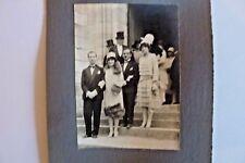 Photo année 1930 mariage  N/B Sortie d'église Département La Guerche 18  222/05