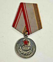 "USSR AWARD ORDER BADGE /""Veteran of the Armed Forces of the USSR/"" v.2 moulage"