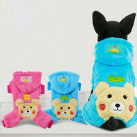 Boy Girl Dog Jumpsuit Clothes Winter Small Pet Cat Coat Hoodie Puppy Jacket Warm